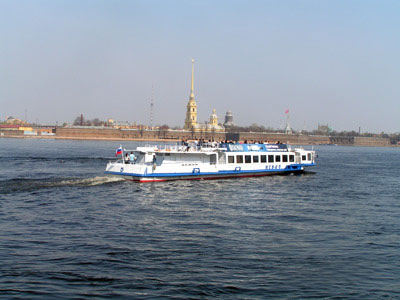 Boat Tour on River Neva