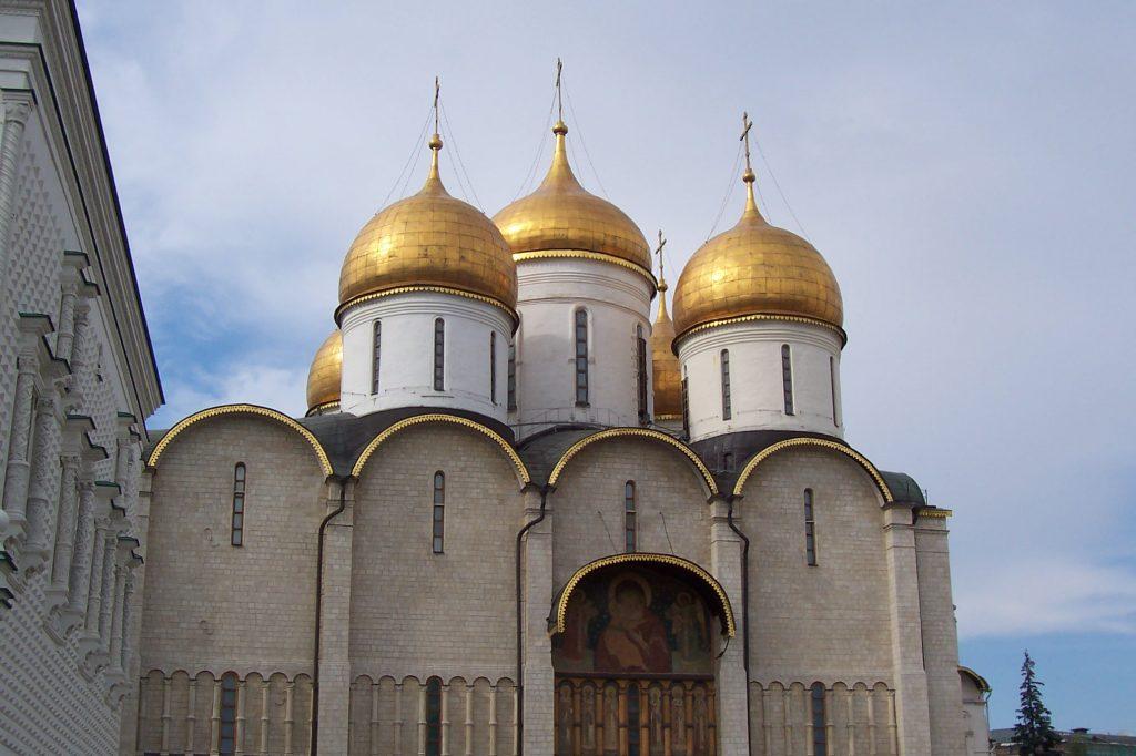 Kremlin tour church