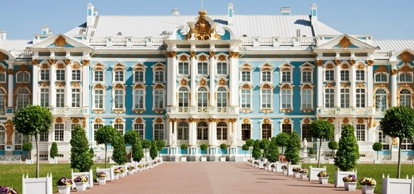 The Catherine Palace (Tsarskoe Selo)