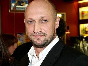 Gosha Kutsenko bald Russian actor