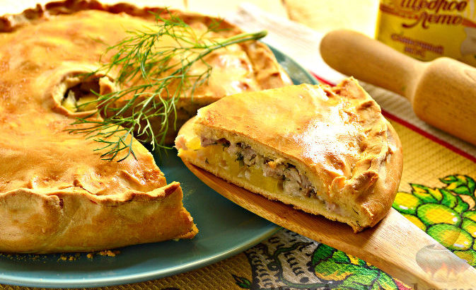 pirog Russian food