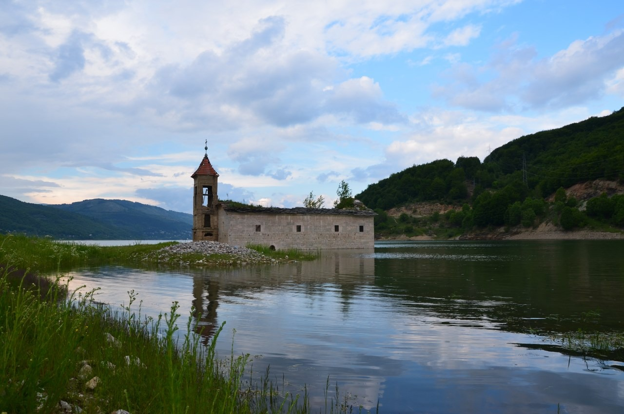 Lake Mavrovo Macedonia