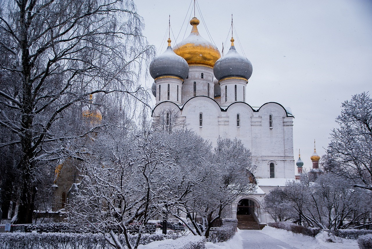 Visit Moscow Russia in wintertime