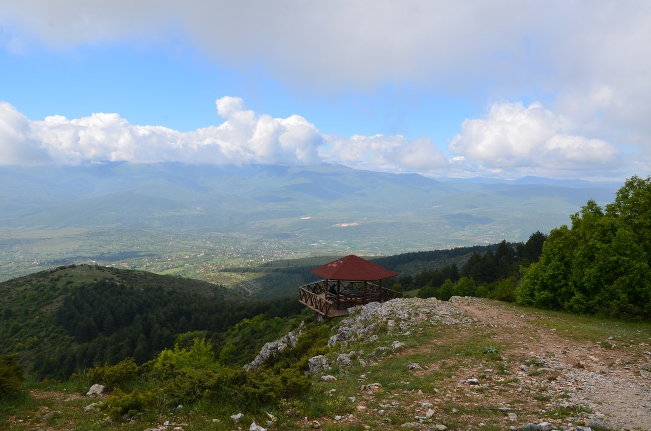 Vodno mountain biking