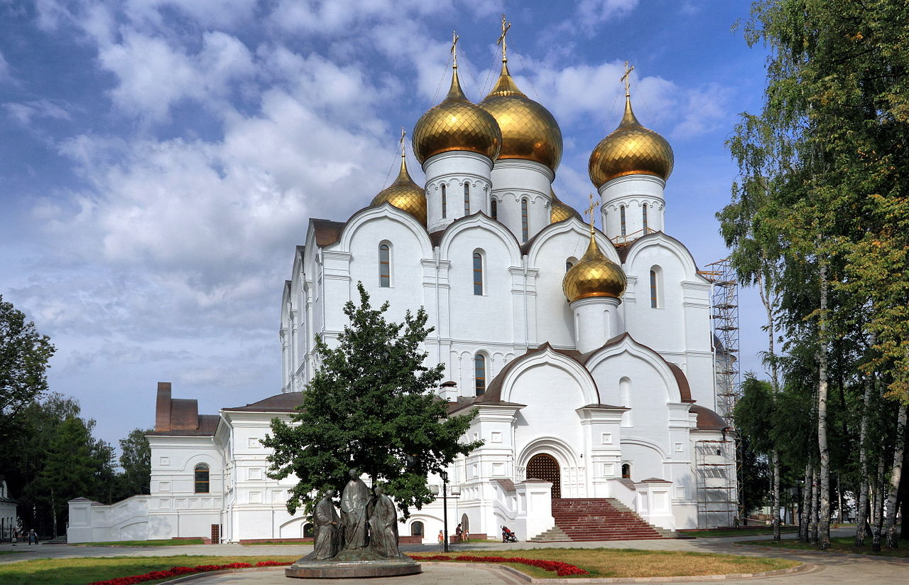 Uspenskiy Cathedral Yaroslavl photo