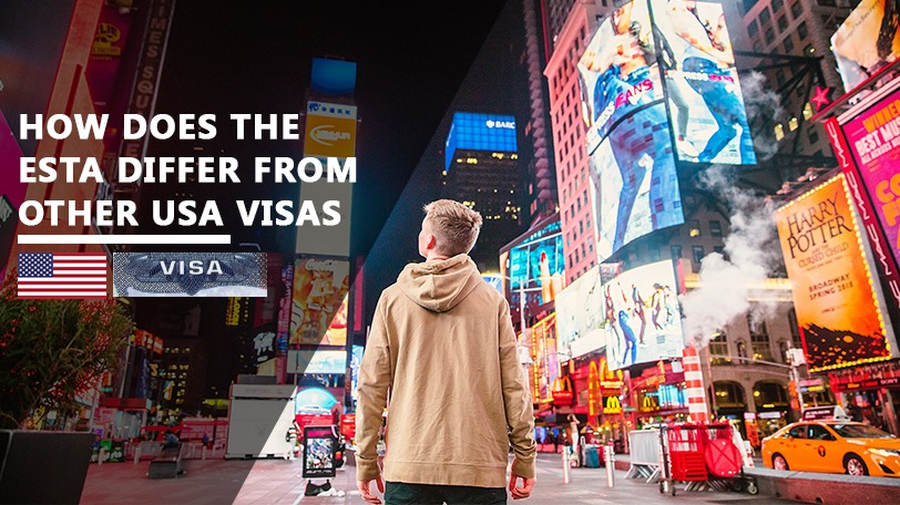 electronic system for travel authorization (ESTA) from U.S. visas