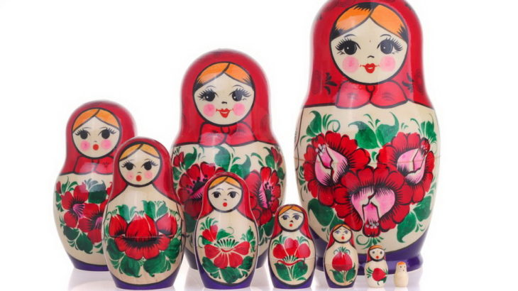 Russian Wooden Doll Matreshka