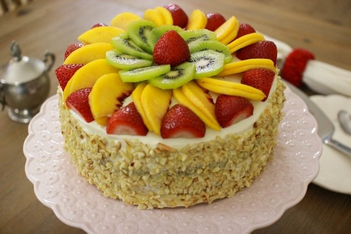 Russian fruit cake