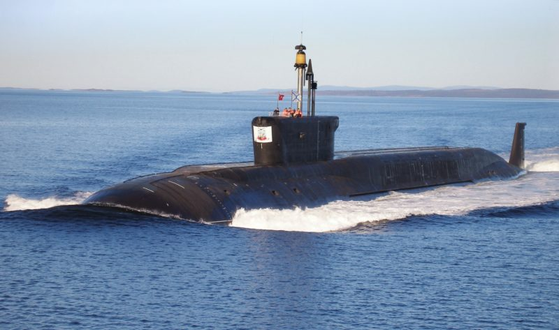 new Russian nuclear submarines