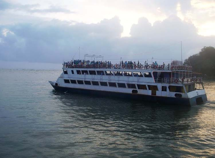 Sunset cruise on Mandovi River India