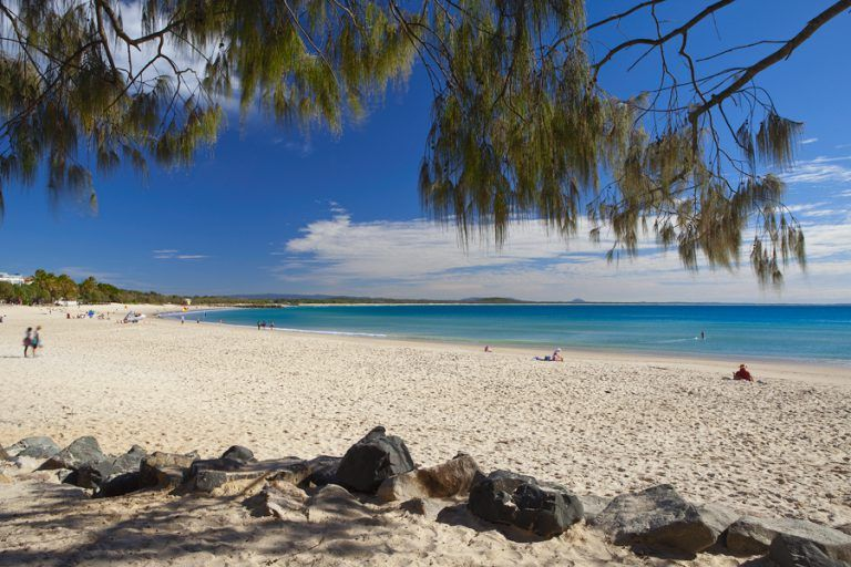 Noosa Main Beautiful Beach Australia